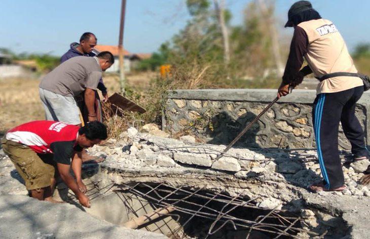 Diduga Tak Ada Perhatian dari Pemkab, Jembatan Penghubung Kecamatan Pengarengan-Torjun Ambruk