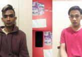 Dua Pemuda ini Diringkus Polisi Usai Transaksi Sabu