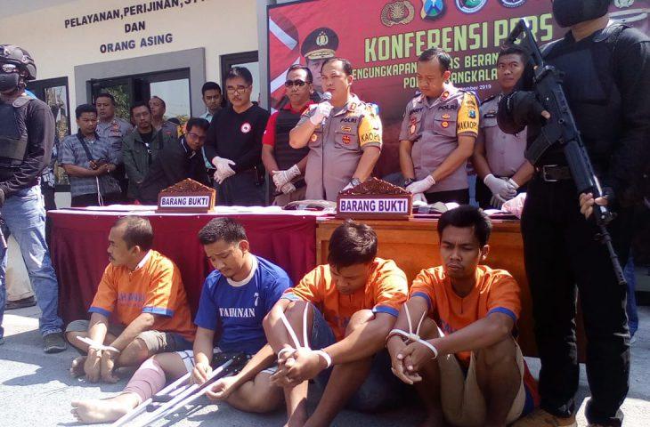 Tiga Kasus Narkoba di Bangkalan Berhasil Diungkap, Polisi Amankan 1,4 Kilogram Sabu