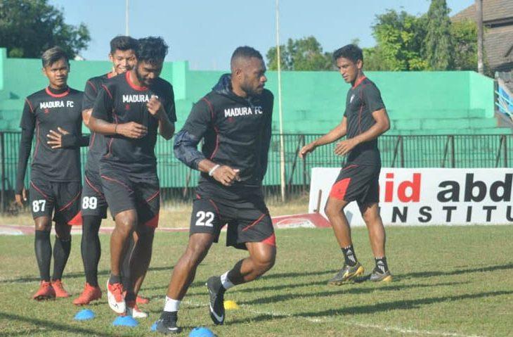 Lini Depan Madura FC Lemah, Ini yang Dilakukan Pelatih Agus Jelang Jamu Mitra Kukar