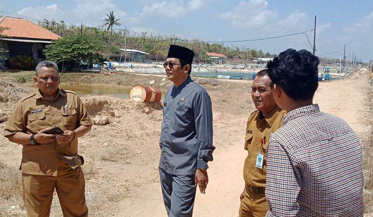 """Sidak """"Sendirian"""", Ketua DPRD Sumenep Temukan Hal ini di Lokasi Tambak Udang"""