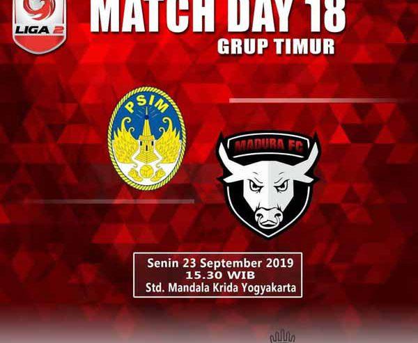 Prediksi Hasil Laga PSIM Yogyakarta Jamu Madura FC