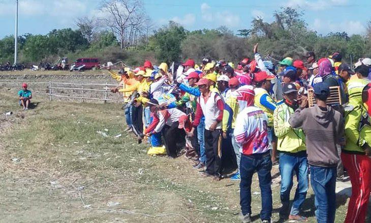 Ratusan Peserta dari Berbagai Daerah Ikuti Lomba Balap Merpati di Sumenep