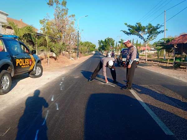Seorang Nenek di Sumenep Tewas Dilindas Bus Damri