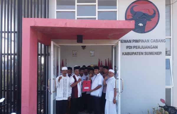 Kembalikan Formulir ke PDI-P Sumenep, Wabup Achmad Fauzi Siap Bertarung di Pilbup 2020