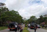 Polisi Bubarkan Pelajar Timika Pemblokir Jalan