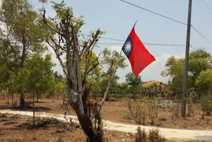 Ada Bendera Asing Berkibar di Wilayah Utara Sampang, Polisi: Sudah Kami Turunkan