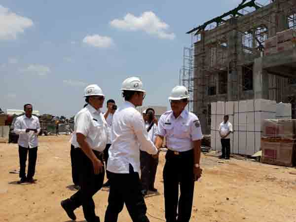 Pembangunan Gedung DPRD Bangkalan Baru Capai 55 Persen, 74 Hari Lagi Harus Rampung