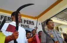 Polisi Tetapkan 6 Tersangka dalam Kasus Kepemilikan Sajam saat Pilkades Serentak di Sampang