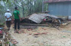 Belum Sebulan, 34 Rumah di Pamekasan Rusak Akibat Hujan Disertai Angin Kencang