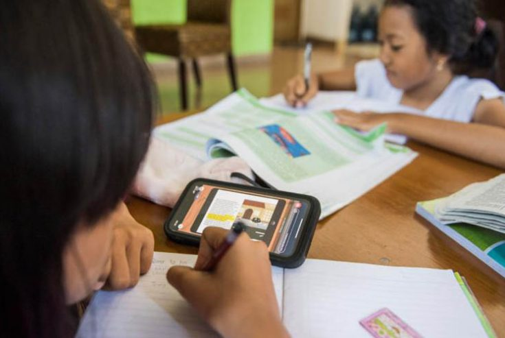 Selama Zona Merah Covid-19, Siswa SD- SMP di Pamekasan Tetap Belajar di Rumah