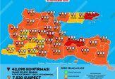 Peta Sebaran Covid-19, Sumenep 'Membara' Lagi!